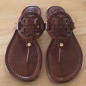 86eccad0d1d7 Tory Burch miller sandals vintage vachetta